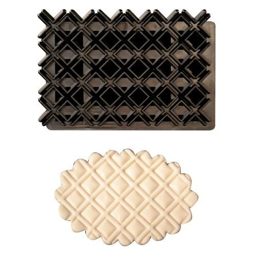 Forma din plastic Patchwork Four Pattern 75x115 mm 54026 CSL