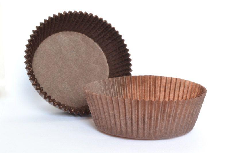 Forma din hartie muffin CAFENIU 50gr. art.2 25x62 mm h 18,5mm  2000 buc 1BC2001PR0201_BND