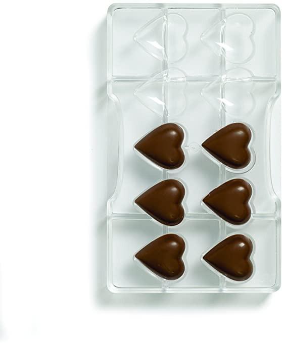 Forma din policarbonat HEART 32,5x35 CAV.10 0050075 DER