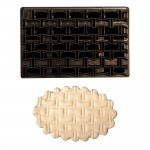 Forma din plastic Patchwork Grated Brick Design 75x115 mm 54023 CSL