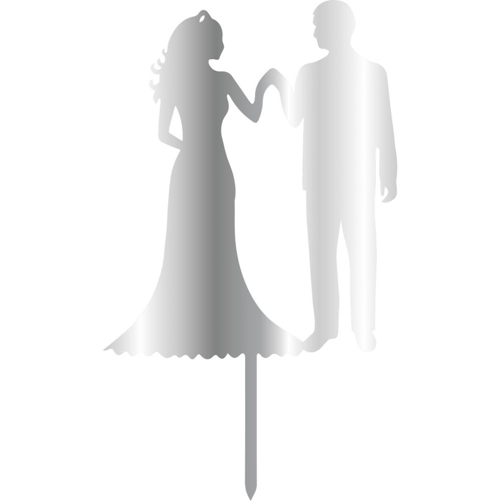 Topper - Bride&Groom 110x200 mm 14431 CSL