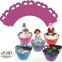 Decoratii pentru cupcake OW305,306,307 10 buc Economic