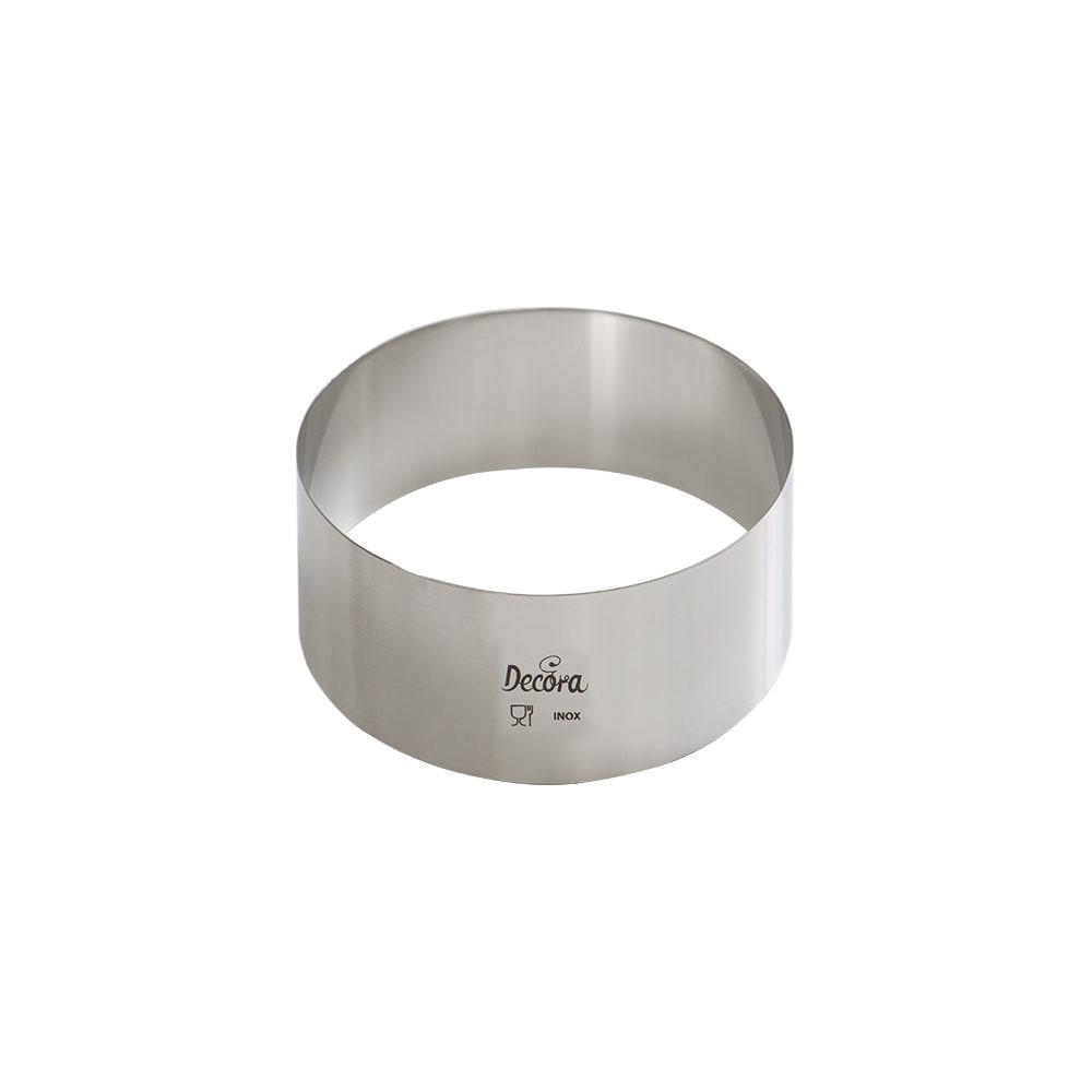 Forme din inox rotunda D16x4,5H cm 0063716 DER