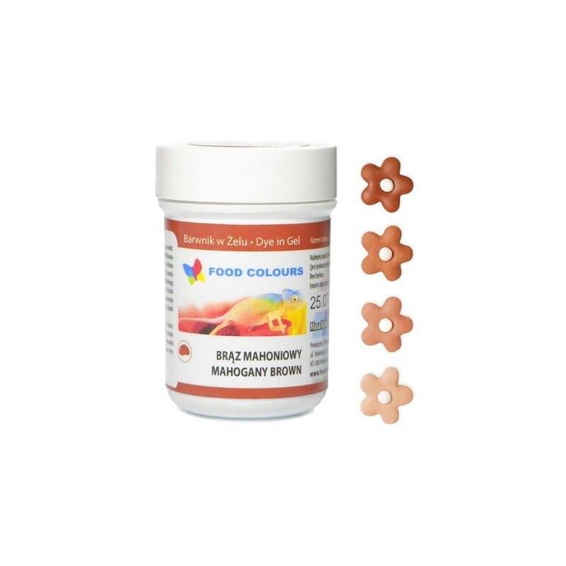 Colorant alimentar in gel  mahagony 35g WSG-072 FC