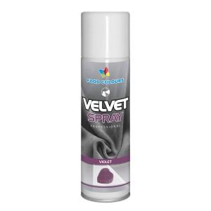 Colorant spray alimentar 250ml VELVET Violet V20 FC