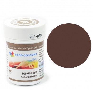Colorant alimentar in gel cacao 35g WSG-068 FC