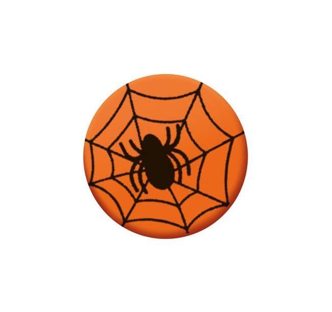 Decoratiuni din ciocolata oranj SPIDER 33934 BARB