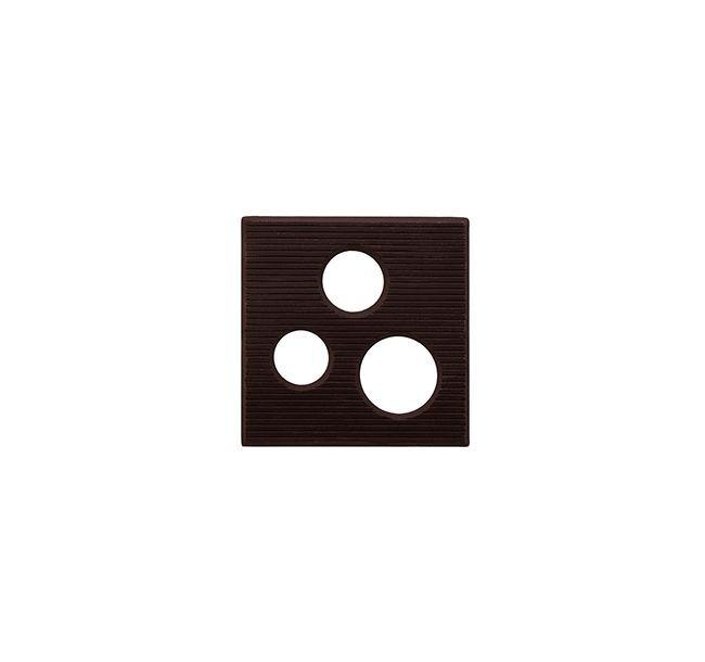 Decoratiuni din ciocolata PATRAT 1,1kg 33932 BARB