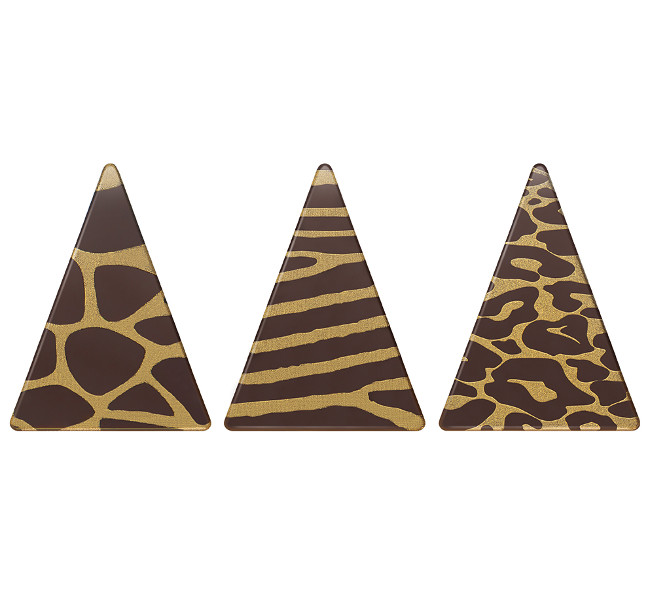 Decoratiuni din ciocolata SAFARI TRIO 0,78kg 33957 BARB